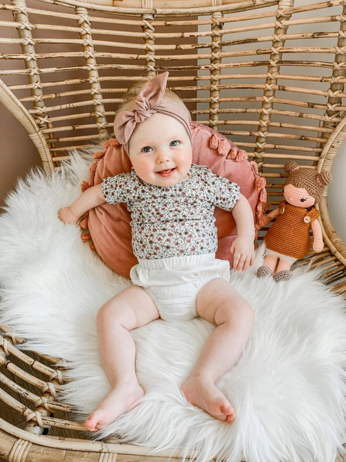 Dagelijkse ritme van Liva (8 maanden)